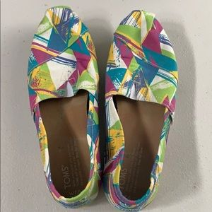 Amazingly comfortable colorful Toms